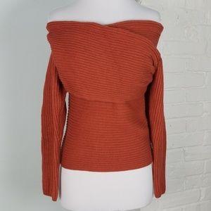 Fashion Nova off the shoulder sweater
